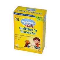 Hyland's Homeopathic Sniffles 'n Sneezes 4 Kids 125 Tablets