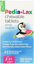 Fleet Pedia-Lax Chewable Tablets Watermelon Flavor 30 Tablets Each