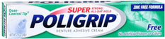 Super Poligrip Denture Adhesive Cream 2.4  Ounce Each