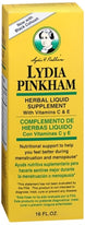 Lydia Pinkham Liquid To Feel Better During Menstruation And Menopause - 16 Ounce