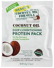 Palmer's Coconut Oil Formula Deep Conditioning Protein Pack 2.1 Ounce Each