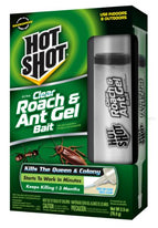 Hot Shot Ultra Clear Roach & Ant Gel Bait HG-95769 1 Each