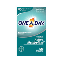 One-A-Day Womens Active Metabolism Complete Multivitamin Tablets 50