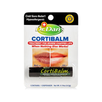 Dr. Dans Cortibalm Lip Balm for Chapped Lips - 0.14 Ounce