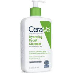 CeraVe Hydrating Facial Cleanser 12 Ounce Each