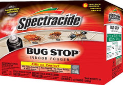 Spectracide Bug Stop Indoor Insect Spray Foggers 2-Ounce Each