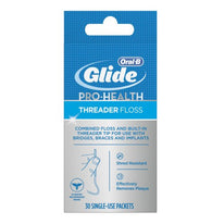 Oral-B Glide Pro-Health Threader Floss 30 Each
