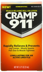 Cramp 911 Muscle Relaxing Roll-on Lotion, 0.71 Ounce, Free Shipping,