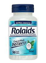 Rolaids Extra Strength Tablets Mint, 96 Each