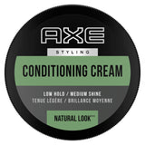 Axe Conditioning Cream Natural Look Low Hold Medium Shine 2.64 oz