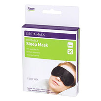 Flents Reusable Sleeping Eye Mask Travel Siesta Mask One Size Fits Most