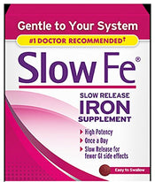 Slow Fe Slow Release Iron Supplement - 30 Tablets Each