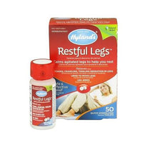 Hyland's Restful Legs = 50 Tablets Homeopathic Tablets Relieve Leg Jerks Itching