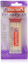 The DoCountor's BrushPicks Interdental Toothpicks - 120 Count