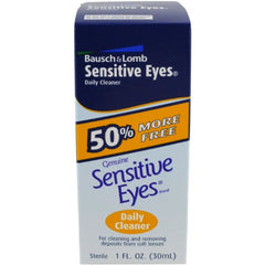 Bausch & Lomb Sensitive Eyes Daily Cleaner 30 mL Each
