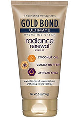 Gold Bond Ultimate Radiance Renewal Cream Oil 5.5 Ounce Each