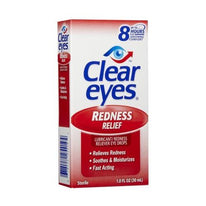 Clear Eyes Redness Relief Eye Drops 1 Ounce Each