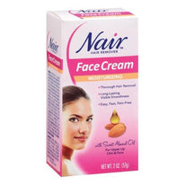 Nair Hair Remover Moisturizing Face Cream 2  Ounce Each