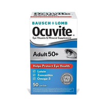 Ocuvite Adult 50+, Eye Vitamin and Mineral Supplement 50 Soft Gels