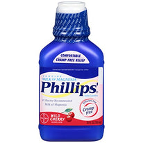 Phillips' Wild Cherry Milk of Magnesia Liquid  26 Ounce Each