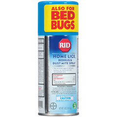 RID Step 3 Home Lice Bedbug & Dust Mite Spray 5 Ounce 141.8 g