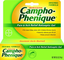 Campho-Phenique Pain Relieving Gel 0.50 Ounce Each