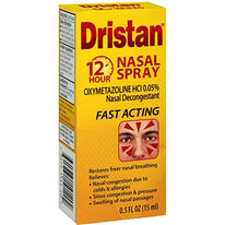 Dristan Nasal Spray 12 Hour Nasal Decongestant 0.5 Ounce