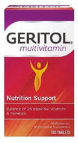 Geritol Vitamins Multivitamin & Mineral Supplement 100 Tablets Each