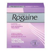 Women's Rogaine Hair Regrowth Treatment Unscented 3 Month Supply