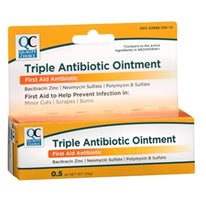 Quality Choice Triple Antibiotic Ointment First Aid 0.5  Ounce Each
