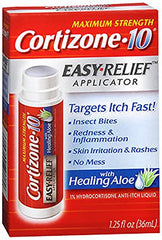 Cortizone 10 Hydrocortisone Anti Itch Eachsy Relief Applicator 1.25 Ounce Each