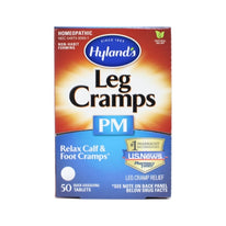 Hyland's Leg Cramps PM w-Quinine Homeopathic Nighttime Relief 50 Tablets