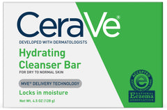 CeraVe Hydrating Cleansing Bar 4.5 Ounce Each