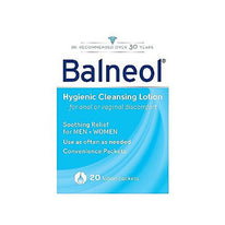 Balneol Hygienic Cleansing Lotion Packets 20 Each