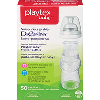Playtex Drop in Liners for Nurser Bottles 4 Ounce 50 Count Each