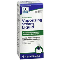 Quality Choice Medicated Vaporizing Steam Liquid 4 Ounce Each
