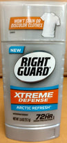 Right Guard Xtreme Defense 5 in 1 Protection Arctic Refresh Solid 2.6 Ounce
