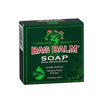 Bag Balm Mega Moisturizing Soap Rosemary Mint 3.9 Ounce Each