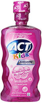 ACT Kids Anti Cavity Fluoride Rinse Bubblegum Blowout 16.9 Ounce