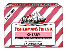 Fisherman's Friend Cough Suppressant L Ounceenges Cherry 40 Count Each