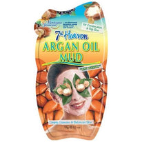 7th Heaven Argan Oil Mud Mask Deeply Cleanses & Balances Skin 0.5 Ounce Each