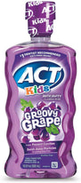 ACT Kids Anticavity Fluoride Rinse Groovy Grape 16.9 Ounce