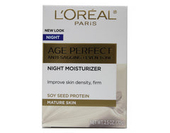 L'Oreal Paris Age Perfect Anti-Sagging and Even Tone Night Moisturizer for Mature Skin 2.5 Oz