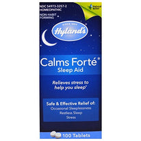 Hyland's Calms Forte Homeopathic Sleep Aid 100 Tablets