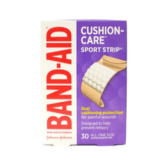 BAND AID Bandages Sport Strip Extra Wide 30 Each