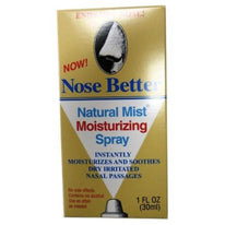 Nose Better Natural Mist Moisturizing Spray 1 Ounce Each