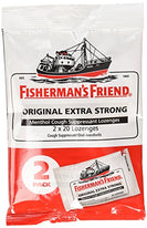 Fishermans Friend Extra Strong Menthol Cough Suppressant 40 Lozenges Each