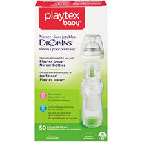 Playtex Baby Drop-Ins Pre-Sterilized Disposable 8 Ounce Liners 50 Each