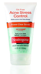 Neutrogena Oil-Free Acne Stress Control Power-Clear Scrub 4.20 Ounce