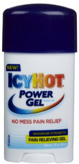 ICY HOT Power Gel Pain Reliever Gel Maximum Strength 1.75 Ounce Each